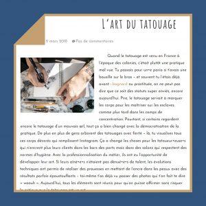 rédaction web pour Macarologie Sarrebourg par L'insufflerie